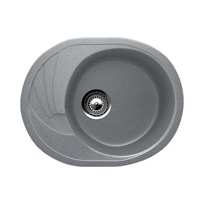 Врезная кухонная мойка EcoStone ES-17 309 (темно -серый)