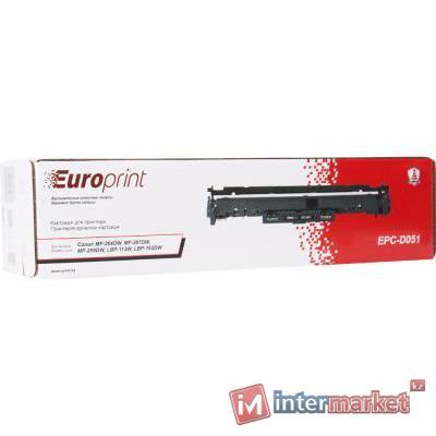 Картридж, Europrint, EPC-051, Для принтеров Canon MF-264DW, MF-267DW, MF-269DW, LBP-113W, LBP-162DW, 1700 страниц.